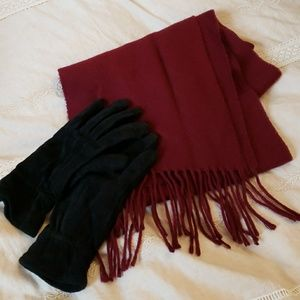 Accessories - Ladies Gloves and Scarf